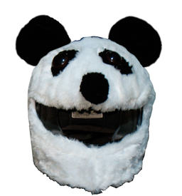 panda bear motorcycle helmet cover