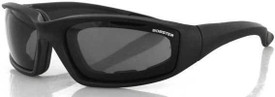 Foamerz 2 Sunglasses, Blk Frame, Anti-Fog Smoked, Ansi Z87