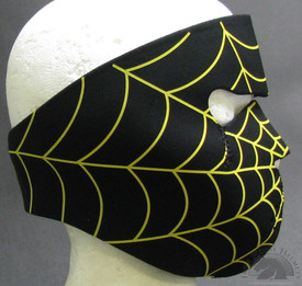 Pittsburgh Spider Face Maks