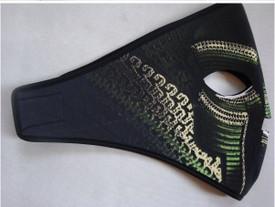 Snake Face Neoprene Face Mask