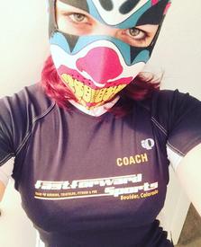 Insane Clown Neoprene Face Mask