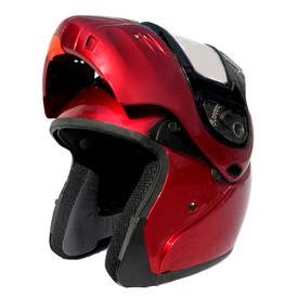 DOT Modular Full Face Winebury Snowmobile Helmet