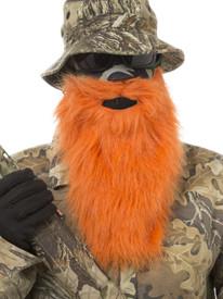 Orange Beard Face Mask
