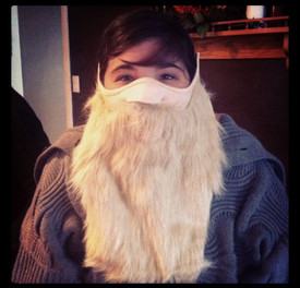 Merlin Beard Face Mask