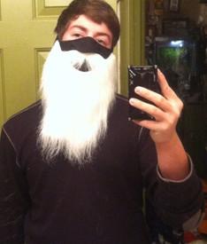Santa Beard Face Mask