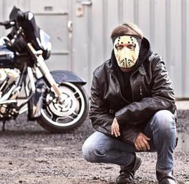 Glow in the Dark Jason Face Mask