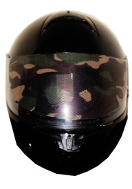 Camo Motorcycle Helmet Visors Sticker