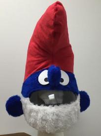 Papa Smurf Helmet Cover