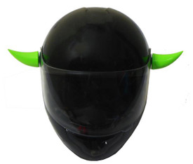 KAWASAKI GREEN HELMET HORNS