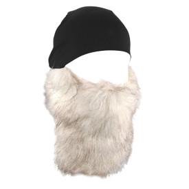 Zan Headgear Helmet Liner, Detachable White Beard