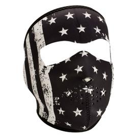 B&W Vintage Flag Neoprene Face Mask