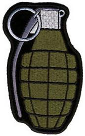 Hand Grenade Patch