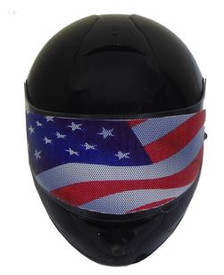American Flag Motorcycle Helmet Visors Sticker