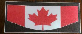 Canadian Flag Motorcycle Helmet Visors Sticker