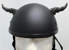 Silver Ogre Motorcycle Helmet Horns