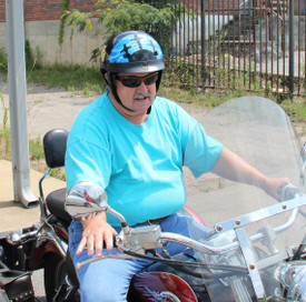 Christian Motorcycle Rider