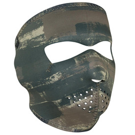 Dark Brushed Camo Neoprene Face Mask