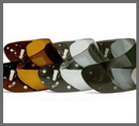 Mirror Full Face Shield / Modular / Motorcycle Helmet Visors
