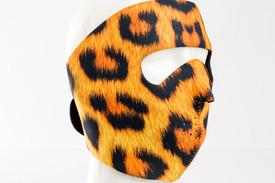 Leopard Neoprene Face Mask