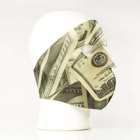 Hundred Dollar Bill Face Neoprene Face Mask