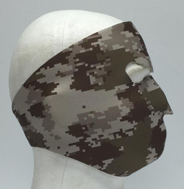 Digital Desert Neoprene Face Mask