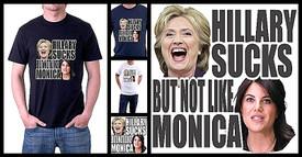 Hillary Sucks But Not Like Monica