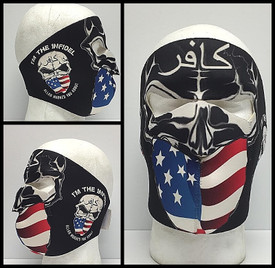 I'm the Infidel Allah Warned You About Neoprene Face Mask