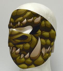 Green Dragon Neoprene Face Mask