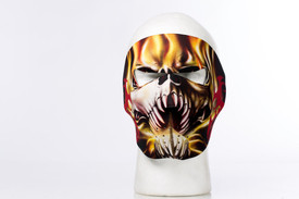 Tribal Teeth Skull Neoprene Face Mask