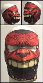 Red Hulk Full Face Mask