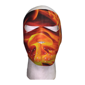 Flame Inferno Full Face Mask