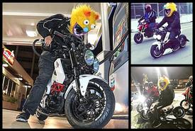 Psycho Motorcycle Helmet Cover