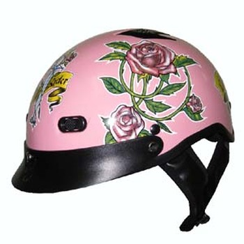 Ladies Motorcycle Helmet