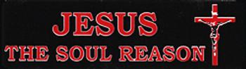 JESUS The Soul Reason Helmet Sticker
