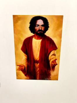 Saint Charles Manson Sticker