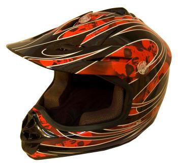 DOT Certified REDG Kids MX Motocross Helmet - Motorcycle ATV Helmet