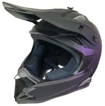 Black MX Motocross Helmet