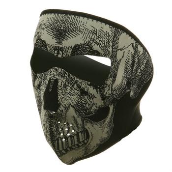 Skull Head Neoprene Face Mask