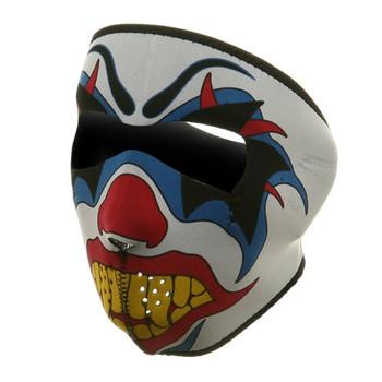 Clown Neoprene Face Mask Front