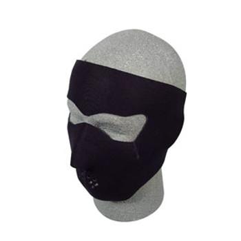 Black Neoprene Face Mask