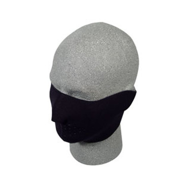 Black Half Neoprene Face Mask