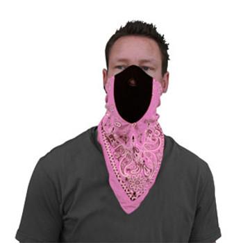 Pink Paisley NeoDanna on a Man...A Man, strange.