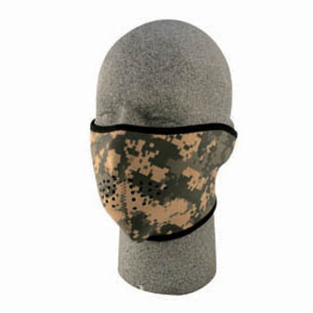 1/2 Digital ACU Neoprene Face Mask