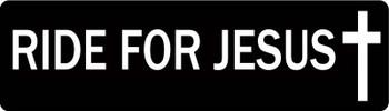 RIDE FOR JESUS Motorcycle Helmet Sticker