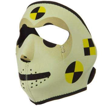 Crash Dummy Neoprene Face Mask