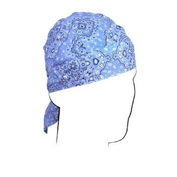 Blue Paisley Do-Rag