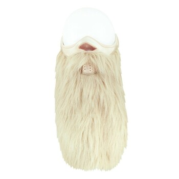 Blonde Beard Face Mask Front