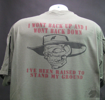 I won't back up and I won't back down shirt T-Shirts