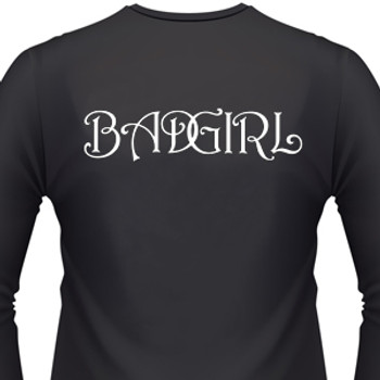 Bad Girl Biker T-Shirt