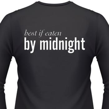 Best If Eaten By Midnight Biker T-Shirt